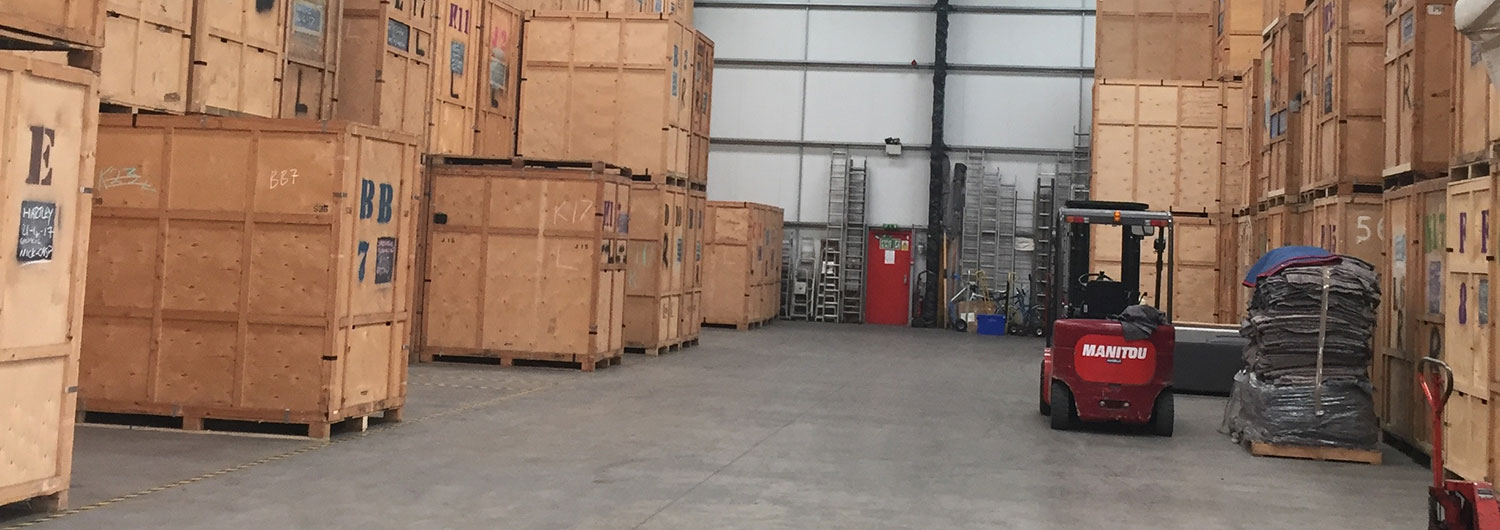 Hughes Removals storage facility
